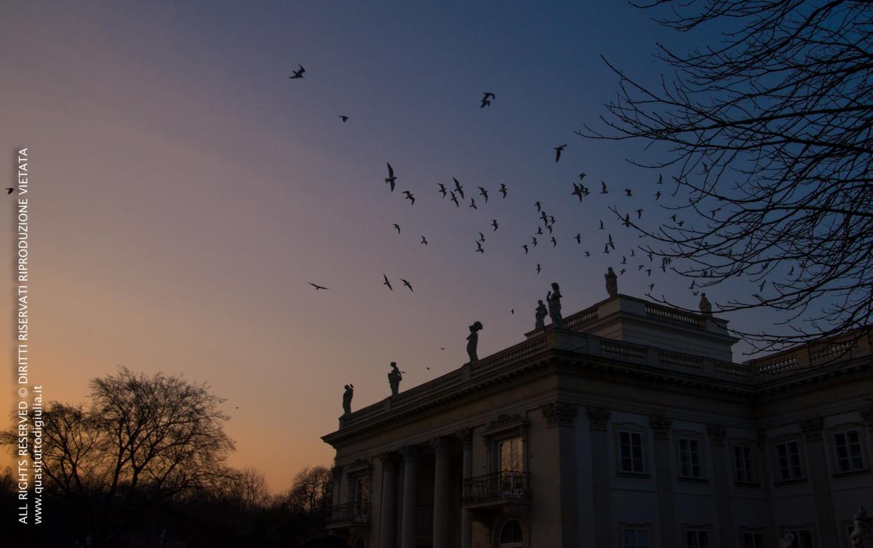 Varsavia, Lazienki Królewskie Park