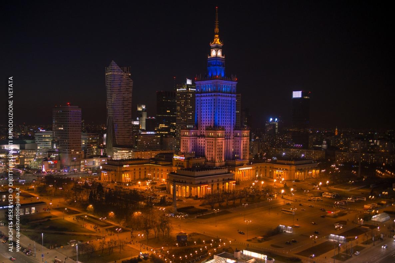 Varsavia, Palazzo della cultura e la scienza