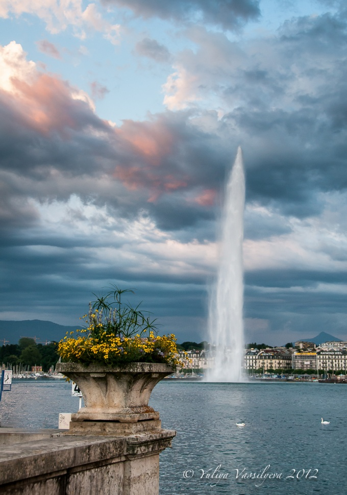 Il lago di Ginevra