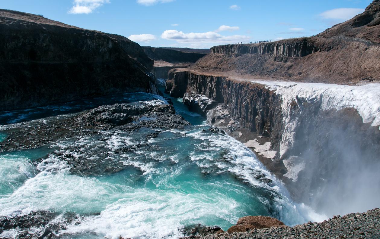 La cascata Gullfoss