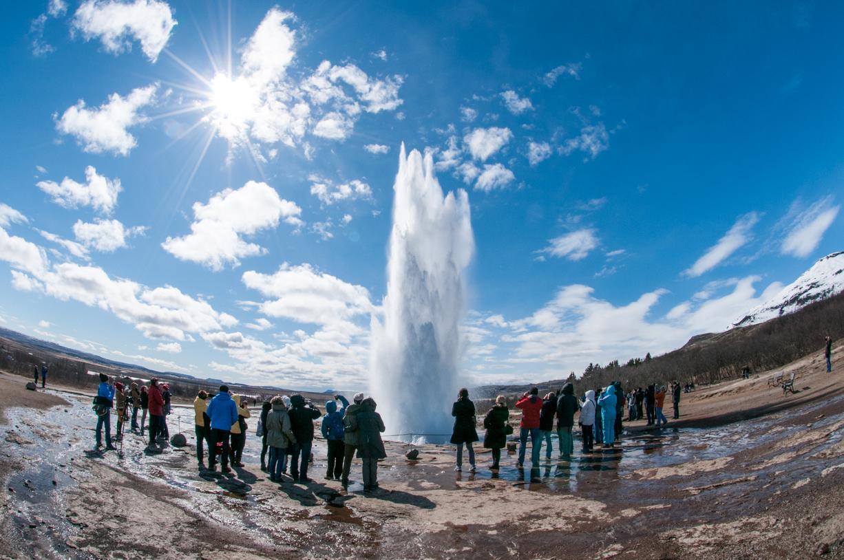 Il getto di geyser