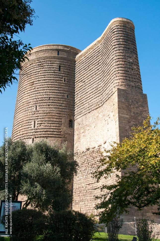 Baku, centro storico, Torre della Vergine