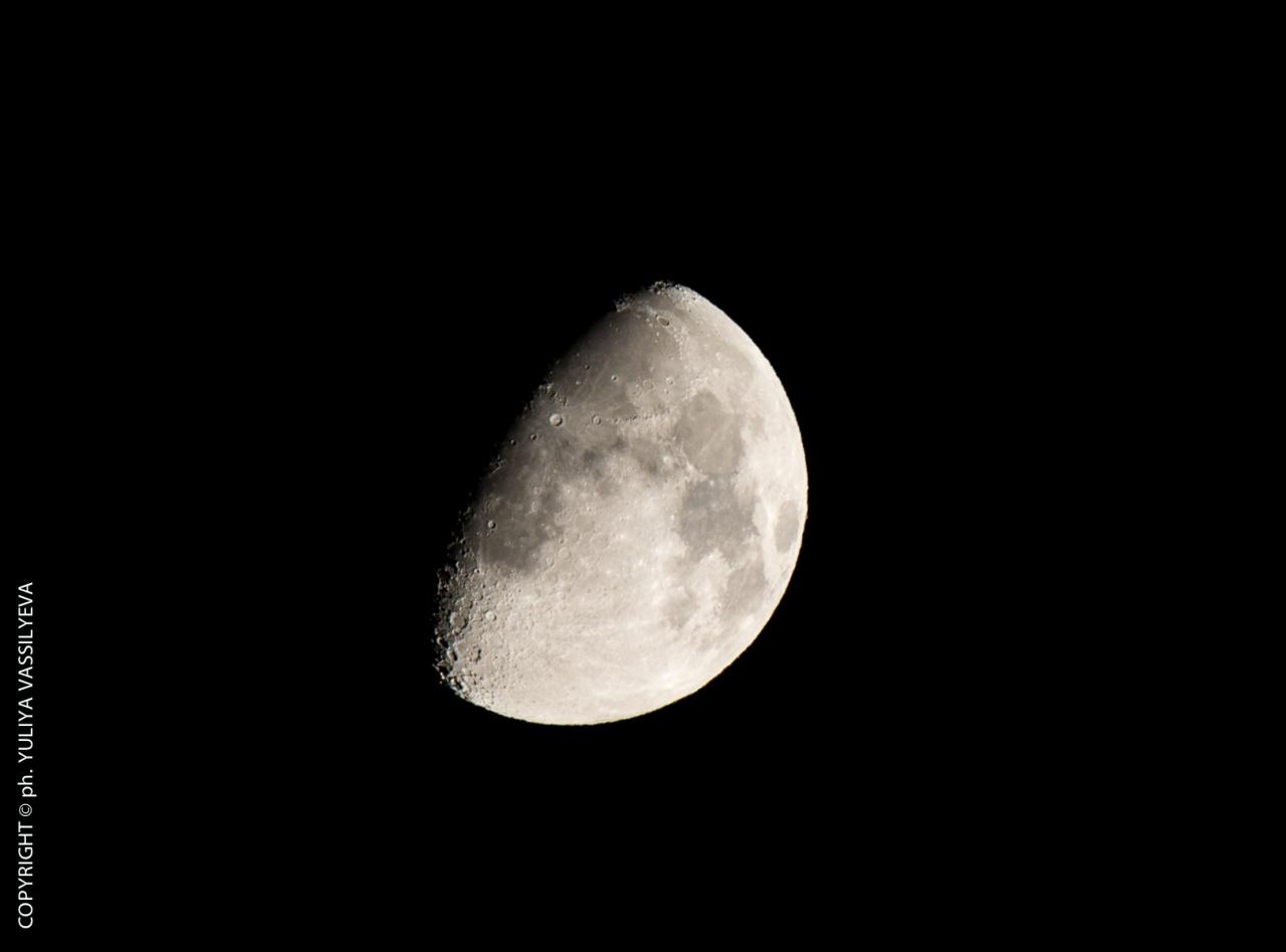 Luna in Calabria, agosto 2014
