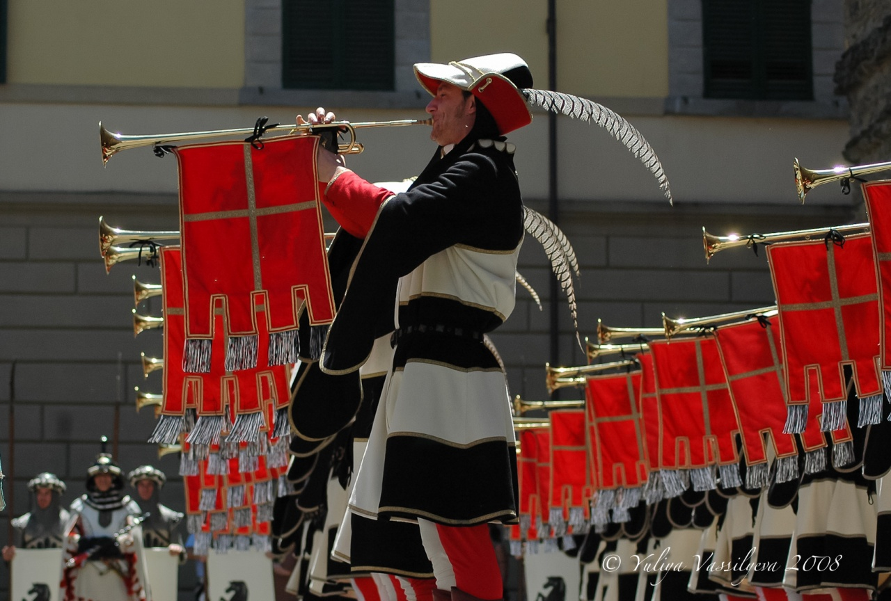 Arezzo, Giostra del Saracino, 2008