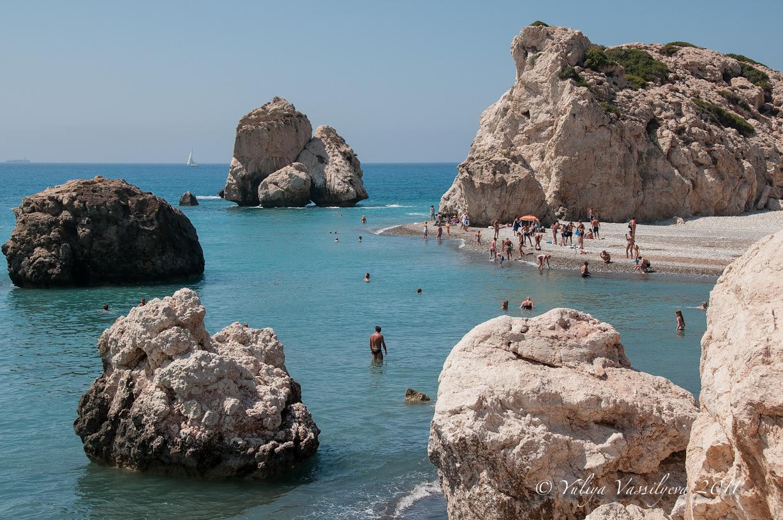La spiaggia-leggenda di Aphrodite