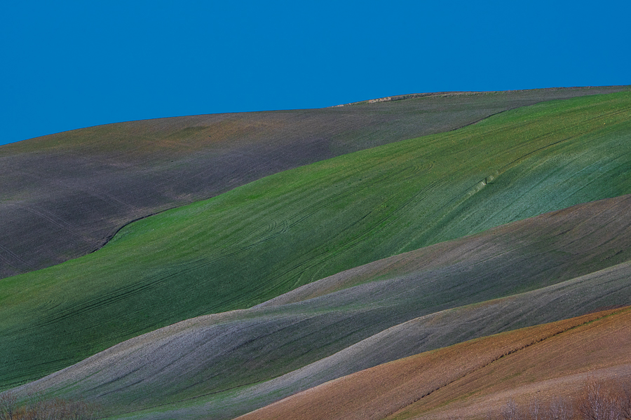 Val D'Orcia, Toscana - (D'Orcia valley, Tuscany)