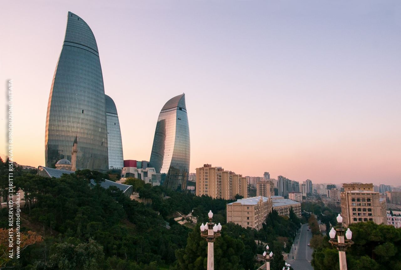 Baku - Flame Towers
