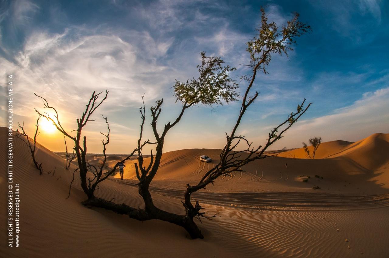 Nel deserto arabo