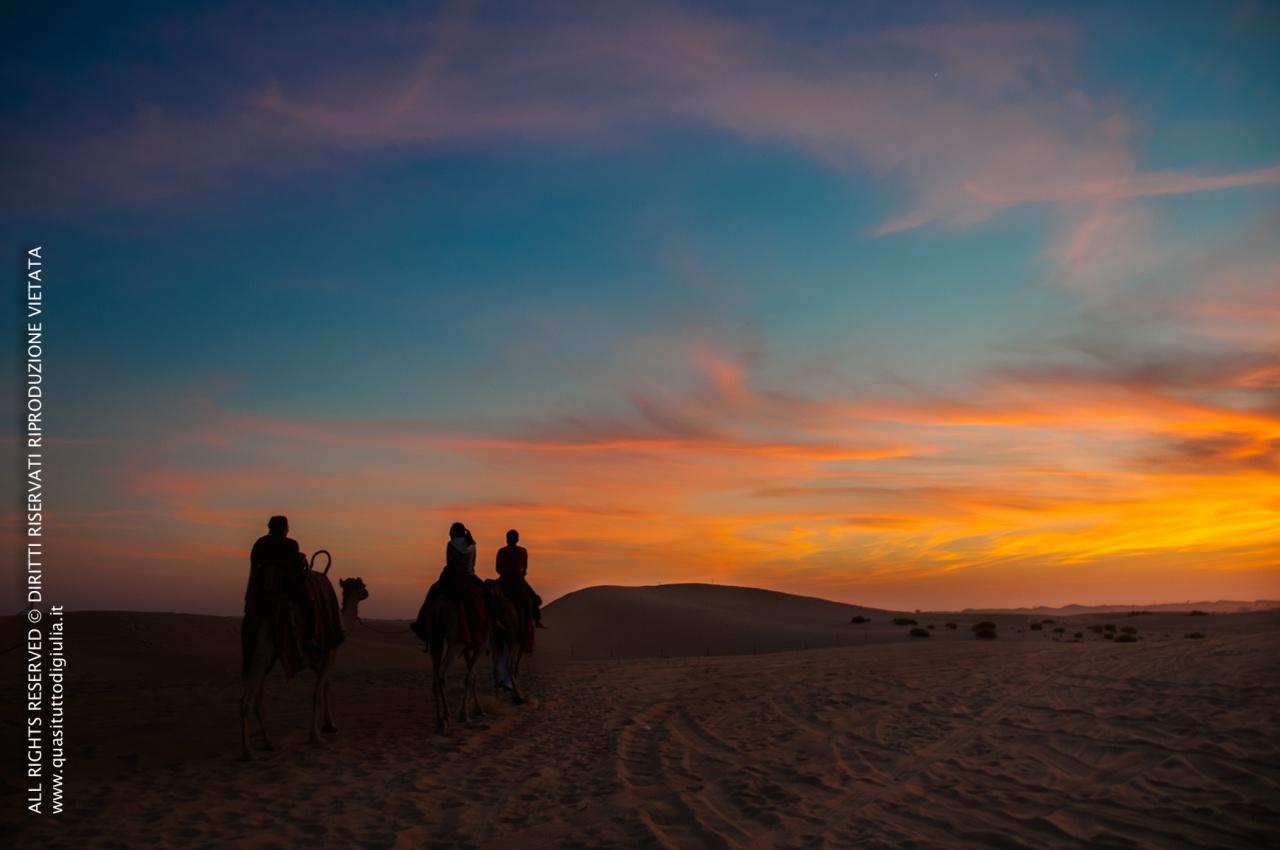 Una sera nel deserto