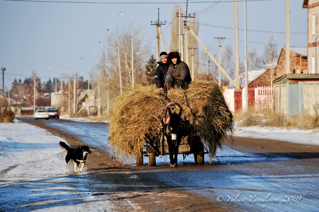 Pavlodar, l'inverno siberiano