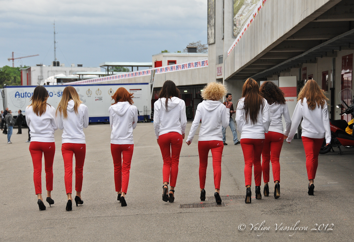 Imola, aprile 2012 - Ferrari Challenge