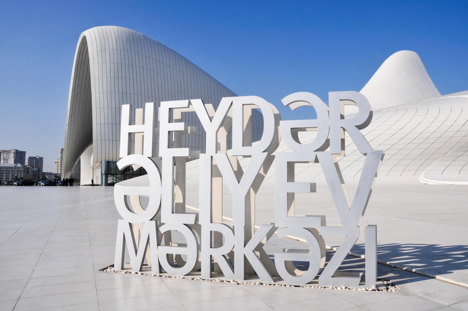 """Baku - Centro culturale """"Heydar Aliyev"""""""