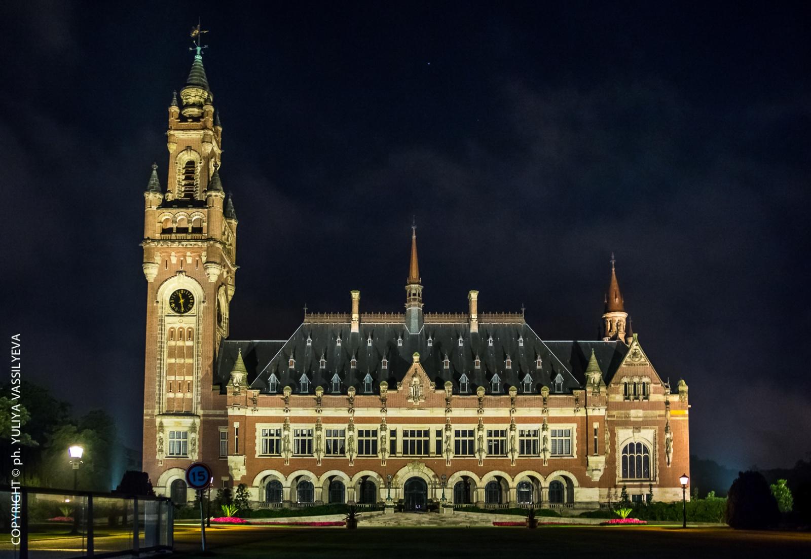 L'Aia, Palazzo della Pace, sede della Corte Internazionale di Giustizia