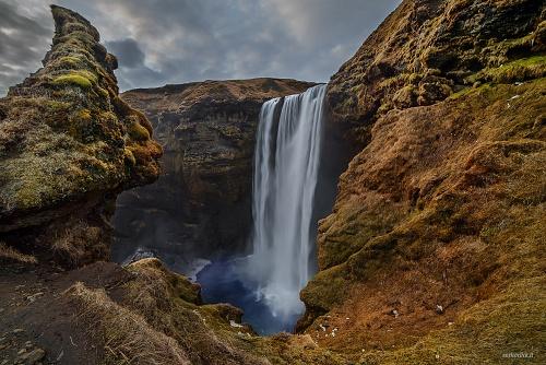 Cascata di Skògafoss, I Guardiani - (Skògafoss waterfall, the guardians)