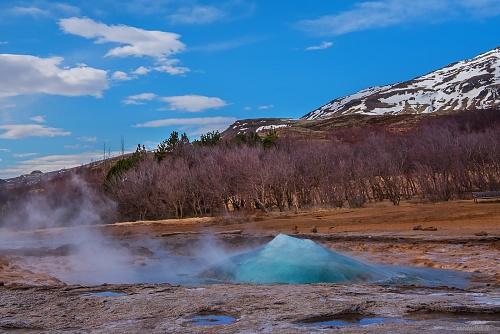 Zona geotermale di Geysir, Geyser Strokkur - (Geotermal area of Geysir, Strokkur geyser) 2015