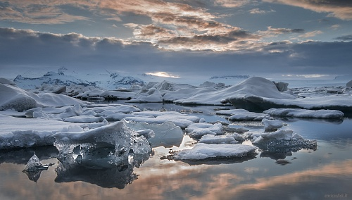 Jokulsarlon - Laguna glaciale (Jokulsarlon - glacial lagoon)