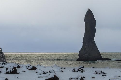 Faraglioni di Reynisdrangar a Vik - (Reynisdrangar, Sea stacks ot Vik)